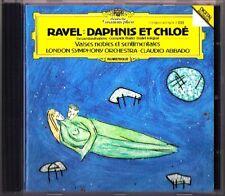 ABBADO: RAVEL Daphnis et Chloe Valses Noble et Sentimentale CD Claudio LSO