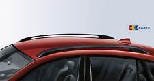 BMW NUOVI ORIGINALI del tetto RAIL SYSTEM Retrofit Kit Nero x6 e71 e72 2165700