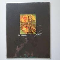 "Eduardo Guzman's ""Golden Gate Bridge"" Signed Laser Print of 2008 Watercolor"