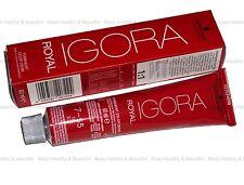 3 x Schwarzkopf IGORA Permanent Color Creme 60 ml FREE registered post