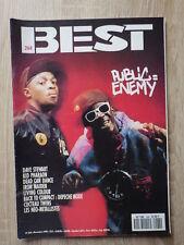 Genre ROCK & FOLK : REVUE BEST 1990 No 268 PUBLIC ENEMY
