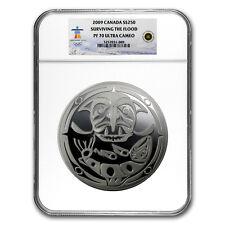 2009 Canada 1 kilo Silver $250 Surviving the Flood PF-70 NGC