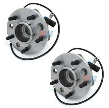 Pair Set 2 Front WJB Wheel Bearing Hub Assies Kit for Chevy Astro GMC Safari AWD