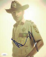 8733866d83e ANDREW LINCOLN Signed RICK GRIMES 8x10 Photo Autograph WALKING DEAD JSA COA
