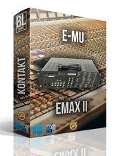 E-MU EMAX II 2 LIBRARY FL STUDIO LOGIC KONTAKT ABLETON MPC SAMPLES EMU MAC PC