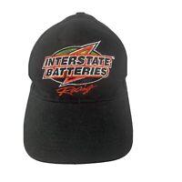 Interstate Batteries Racing #18 Baseball Cap Hat One Size SnapBack Black