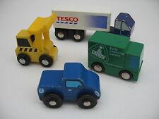Juguete de Madera Coches Con Camión & Digger ~ se ajusta de madera Track ~ (Brio Thomas)