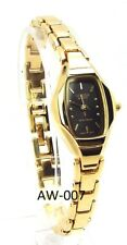 New Citizen Ladies Gold-tone, Rectangle-dial Dress Watch