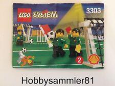 Lego® 3303 System Sports Bauanleitung Feldzubehör - Field Accessories