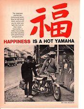 1966 YAMAHA TWIN JET 100 MOTORCYCLE ~ ORIGINAL 4-PAGE ARTICLE / AD