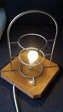 VINTAGE INDUSTRIAL STEAMPUNK UPCYCLED DESK LIGHT WITCH BRAD NEW LED BULB UK PLUG