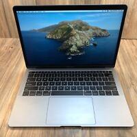 """Apple MacBook Air 2019 Space Gray 13"""" Touch ID 128GB SSD 8GB RAM 1.6GHz Tested"""