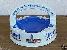 Alter Urquell Schinkenhäger Stammtisch Aschenbecher mit Henkel
