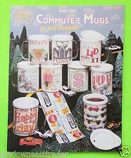 Commuter Mugs Cross Stitch Charts American School of Needlework c1993 New