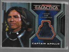 Battlestar Galactica Colonial Warriors costume card CC11 Richard Hatch - Apollo