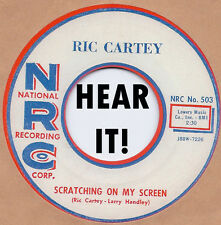ROCKABILLY REPRO: RIC CARTEY - Scratchin' On My Screen/My Heart Belongs NRC