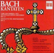 Bach: Kantaten, BWV 137 & 21, New Music