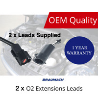 2 x O2 Oxygen Sensor Extension Leads For FORD Falcon Territory AU BA BF FG 400m