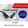 2 x O2 Oxygen Sensor Extension Leads For FORD Falcon Territory AU BA BF FG 400m