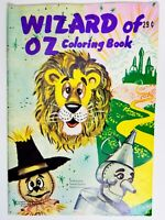 Wizard Of Oz Coloring Book Landoll Publishing NOS Unused Circa 1960 USA Rare!