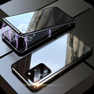 Hülle Samsung Galaxy S20 Fe S20+ Ultra 360° Magnet Case Handy Tasche Schutzhülle