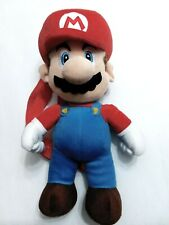 Mario Backpack - Super Mario Bros. 16 Plush Backpack by Nintendo w/ Zipper aria