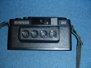NIMSLO Camera to produce 3D Lenticular images - FOR PARTS/REPAIR