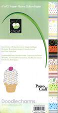 CRICUT Paper - Paper Pad, Doodlecharms 40-1605