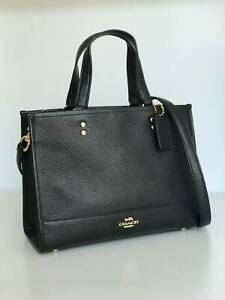 Coach Dempsey Carryall Bag in Black 1959