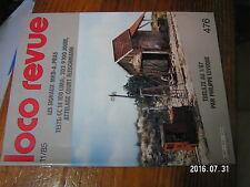 1µ? Revue Loco Revue n°476 Rampe de chargement Signaux MKD CC 14100 030+030 T