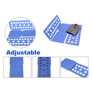 Clothes Fold Board T-Shirt Laundry Organiser Easy Fold Suitable For Children