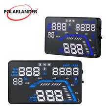 Q7 Car HUD Head Up Display GPS Speedometers Alarm Dashboard Windshield Projector