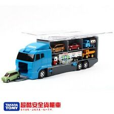 NEW TAKRA TOMY TOMICA LOCK UP CONVOY LARGE TRUCK CAN STORE 13 CARS 366812