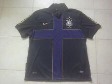 Corinthians 2010 Third Soccer Jersey Ronaldo #9 World Champions Football Size XL