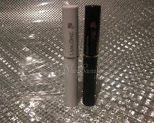 2 LANCOME DEFINICILS  Mascara Black .07 oz Travel Minis +  Cils Booster XL
