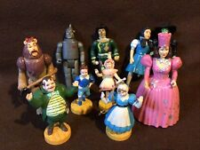 New Listing1988 Mgm Wizard Of Oz Figurines, Lot Of 9 Wizard Of Oz Figurines