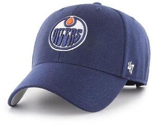 Edmonton Oilers 47 Brand MVP NHL Light Navy Team Cap