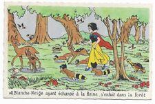 Carte Postale - WALT DISNEY - Edition Superluxe Paris  Blanche Neige  N°2