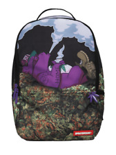 Sprayground Purple Haze Ganja Weed Urban 420 Bear Book Bag Backpack 910B1348NSZ