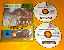 CASTLEVANIA LORDS OF SHADOW XBOX 360 Versione PAL Promotional ○○○○○ USATO