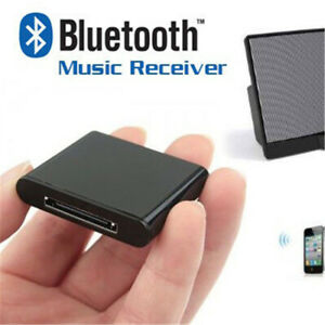 30Pin Wireless Bluetooth A2DP Music Receiver Audio Adapter Dock For iPod iPhone]