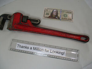 """CRAFTSMAN 18"""" Heavy Duty Straight Pipe Wrench # 55678, Extra Strong, Heavy Duty"""