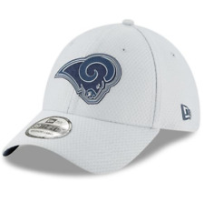 7e08c7f86c511d Los Angeles Rams New Era Men's Sideline Camp 39Thirty Grey Stretch Fit,Size  ...