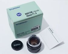 Voigtlander Nokton classic 40 mm F1.4 SC single Coated (M-mount Lens)