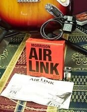 MORRISON AIRLINK FM TRANMITTER FOR ELECTRIC GUITAR NO AMP NEEDED BRAND NEW