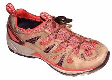 MERRELL WOMENS AVIAN STRETCH SLIP ON QUICK LACE TRAIL WALKING SHOES SIZE-6.5