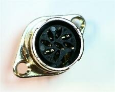 1 x RS Pro 71206 Series, 8 Pole Din Connector Socket, DIN 41524, 3A, Twist Lock