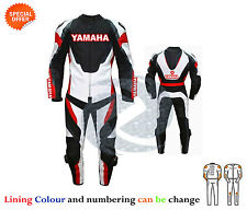 new Yamaha style leather suit customize your motorbike leather suit any size