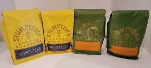 Stumptown Coffee Roasters Lot Homestead Hair Bender 2 Bags Each 4 Bags Total