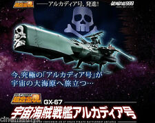 GX-67 Soul of Chogokin Arcadia Captain Harlock Battleship da Galaxy Express 999